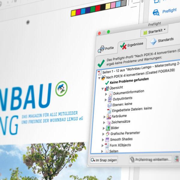 Reinzeichnung: Die digitale und reproduzierbare Dokumentenvorlage